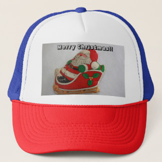 Weihnachtsmann-Fernlastfahrer-Hut Truckerkappe