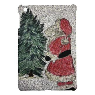 Weihnachtsmann-Fresko iPad Mini Hülle