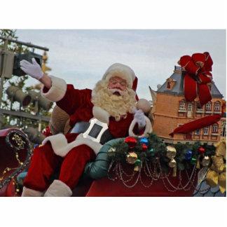Weihnachtsmann für Weihnachten Freistehende Fotoskulptur