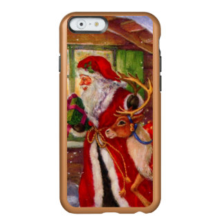 Weihnachtsmann-Illustration - Incipio Feather® Shine iPhone 6 Hülle