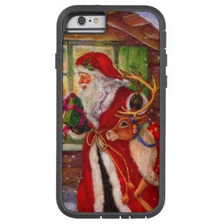 Weihnachtsmann-Illustration - Tough Xtreme iPhone 6 Hülle