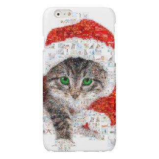 Weihnachtsmann-Katze - Katzencollage - Kitty -