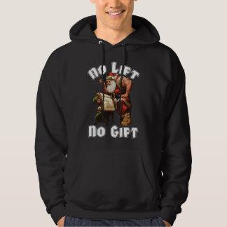 Weihnachtsmann - kein Aufzug, kein Geschenk Hoodie