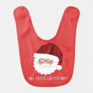 Weihnachtsmann Lätzchen