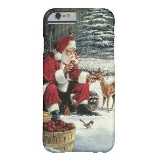 Weihnachtsmann-Malerei - Weihnachtskunst Barely There iPhone 6 Hülle
