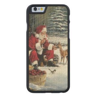 Weihnachtsmann-Malerei - Weihnachtskunst Carved® iPhone 6 Hülle Ahorn
