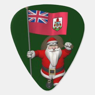 Weihnachtsmann mit Fahne von Bermuda Plektrum
