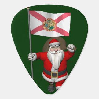 Weihnachtsmann mit Fahne von Florida Plektrum