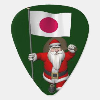 Weihnachtsmann mit Fahne von Japan Plektron