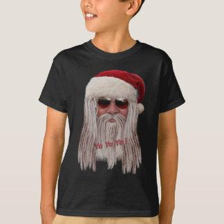 Weihnachtsmann mit Schatten u. fürchtet T-Shirt