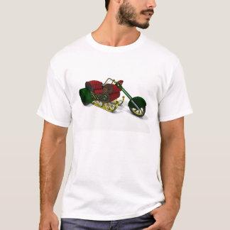 Weihnachtsmann-MotorTrike Schlitten T-Shirt