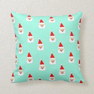 Weihnachtsmann-Mustermitte des Kissen