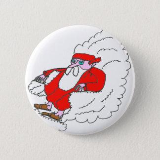 Weihnachtsmann NUAGE1.png Runder Button 5,7 Cm