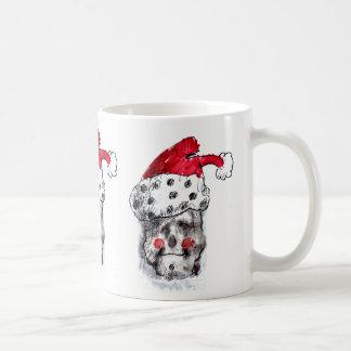 Weihnachtsmann-Schädel-Tasse Kaffeetasse