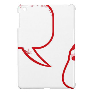 Weihnachtsmann-Sprichwort iPad Mini Hülle