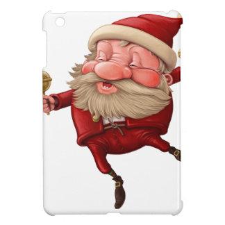 Weihnachtsmann und das Tanzen der Glocke iPad Mini Hülle