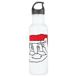 Weihnachtsmann-Wasser-Flasche Edelstahlflasche