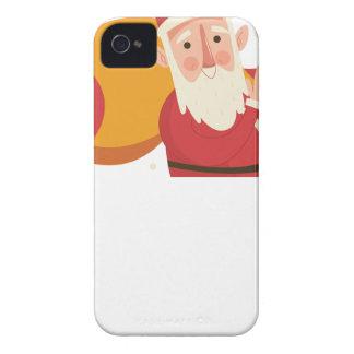 Weihnachtsmann-Weihnachten iPhone 4 Hüllen
