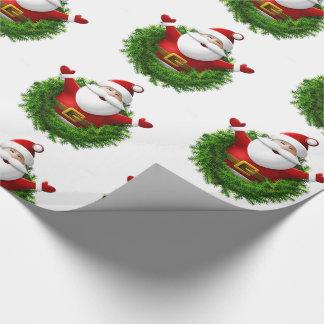 Weihnachtsmann-WeihnachtsPackpapier Geschenkpapier