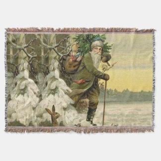 Weihnachtsmann-WeihnachtsWurfs-Decke Decke