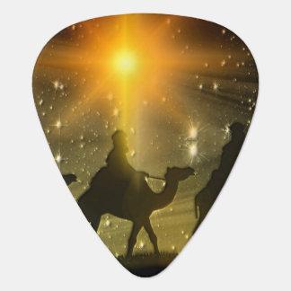 WeihnachtsMänners-goldener Stern von Bethlehem Plektron