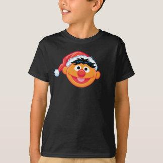 Weihnachtsmannmütze Ernie T-Shirt