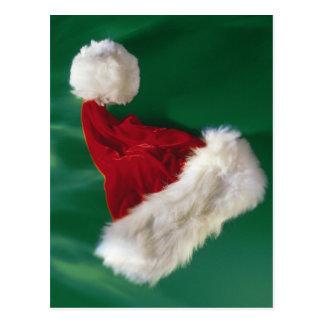 Weihnachtsmannmütze Postkarte