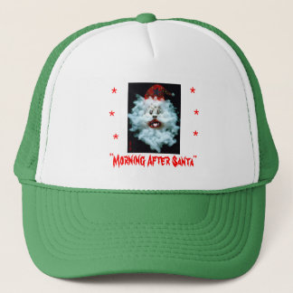 Weihnachtsmannmütze Truckerkappe