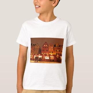Weihnachtsmarkt in Stockholm, Schweden T-Shirt