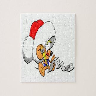 Weihnachtsmaus Puzzle