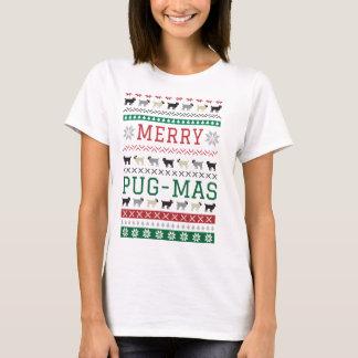 WeihnachtsMops-mas-Mops-Spaß-niedlicher T-Shirt