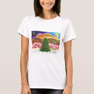 Weihnachtsmusik 2 - Baumwolle de Tuledar (Bogen) T-Shirt