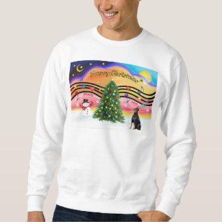Weihnachtsmusik 2 - Dobermann 1 Sweatshirt