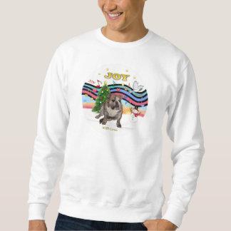 Weihnachtsmusik (RP) - englische Bulldogge 2 Sweatshirt