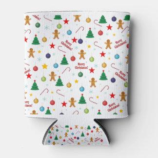 Weihnachtsmuster Dosenkühler