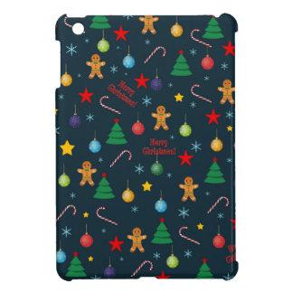 Weihnachtsmuster iPad Mini Hülle