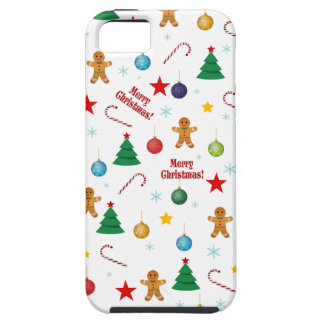 Weihnachtsmuster iPhone 5 Cover