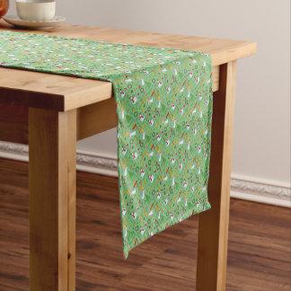 Weihnachtsmuster Kurzer Tischläufer