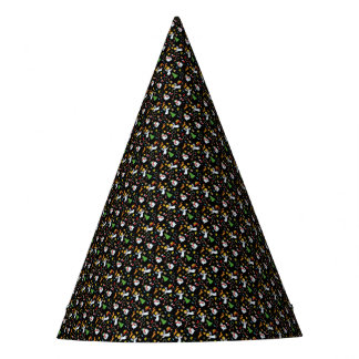 Weihnachtsmuster Partyhütchen