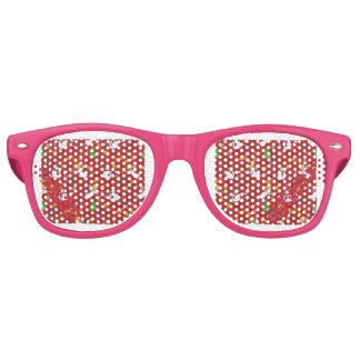 Weihnachtsmuster Sonnenbrille