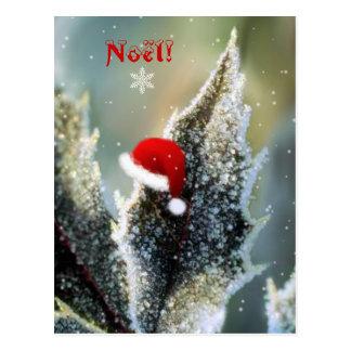 Weihnachtsmütze! Postkarte
