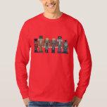 Weihnachtsnussknacker-Feiertags-Cartoon-T - Shirt