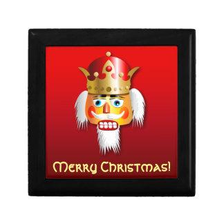 Weihnachtsnussknacker-König Cartoon Schmuckschachtel