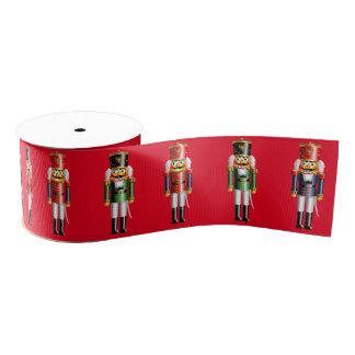 Weihnachtsnussknacker Ripsband