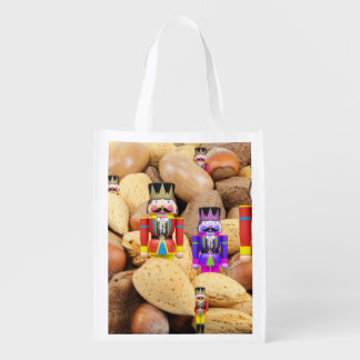 Weihnachtsnussknacker Wiederverwendbare Einkaufstasche
