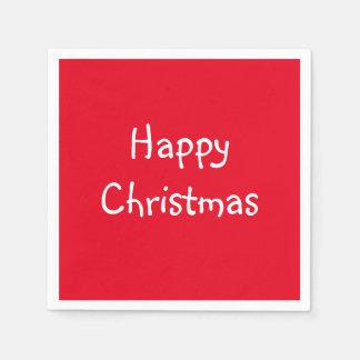 WeihnachtspapierParty-Servietten Papierserviette