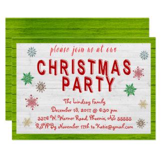 WeihnachtsParty Einladung