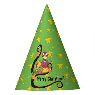 """WeihnachtsParty-Hut """"Rebhuhn in einem Birnen-Baum Partyhütchen"""