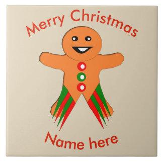 WeihnachtsParty-Lebkuchen-Mann-Fliese Keramikfliese