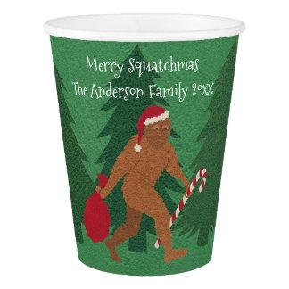 WeihnachtsParty-Zuhause-oder Büro-Spaß Sankt Pappbecher